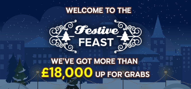 Grab a seat at our Festive Feast!
