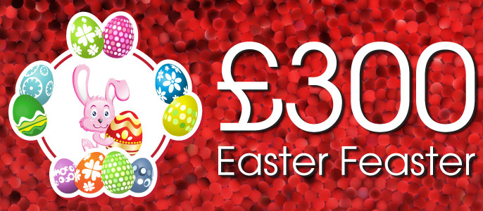 £300 Easter Feaster Bingo & Instant Games promo